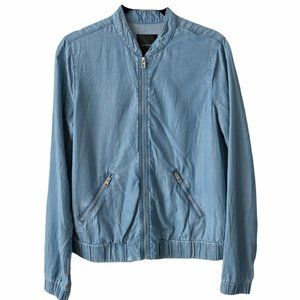 Dynamite Blue Denim Look Jacket small